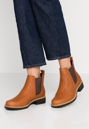 ELAINE - Ankle boot - amber