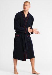 Jockey - BATHROBE - Dressing gown - navy - 1