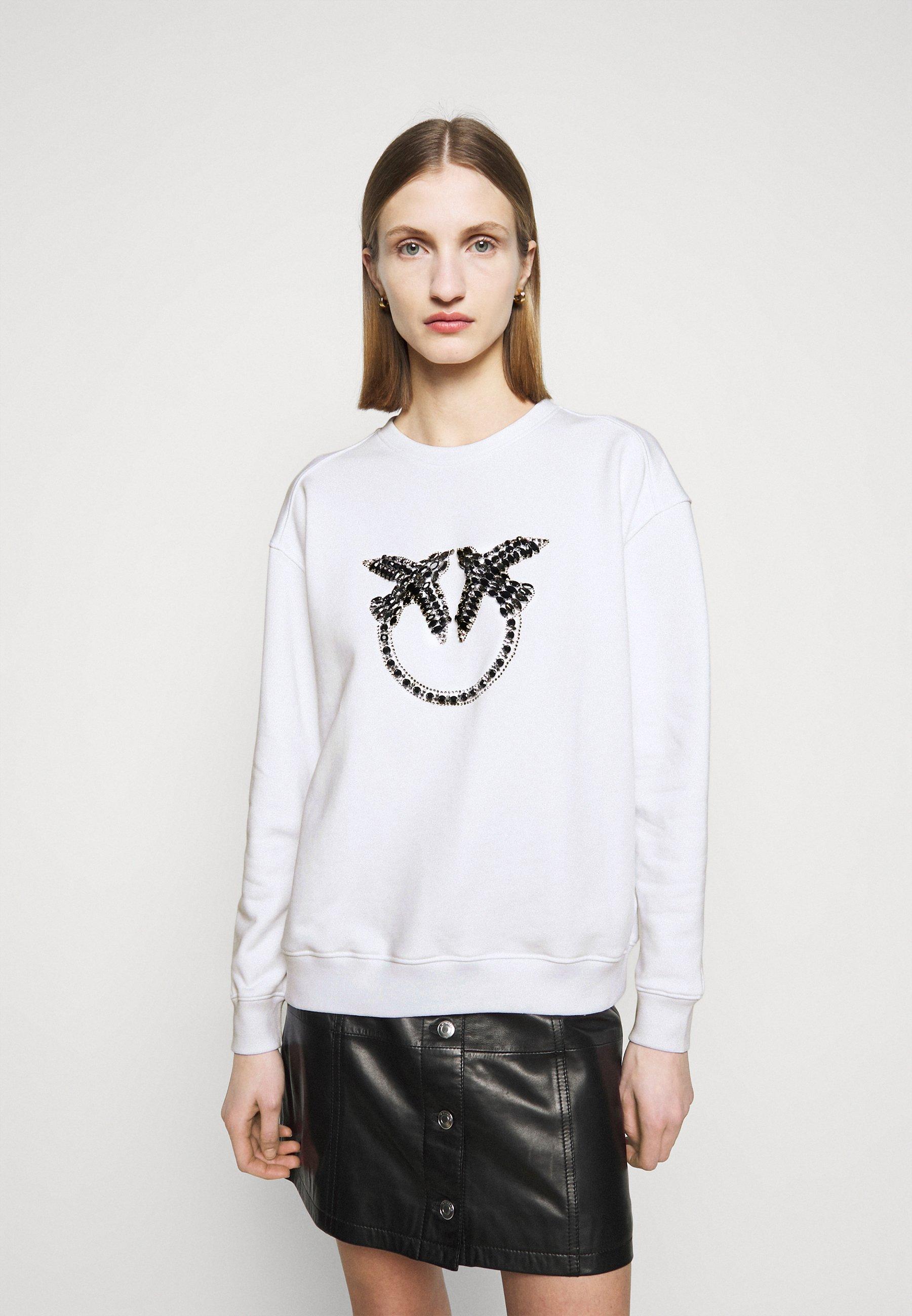 Women NELLY MAGLIA FELPA DIAGONALE - Sweatshirt