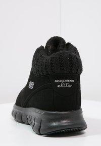 Skechers - SYNERGY-WINTER NIGHTS - Zapatillas altas - black - 3