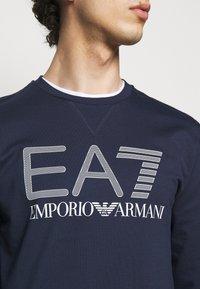 EA7 Emporio Armani - Sweater - dark blue/white - 4
