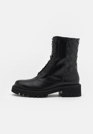 ROW - Lace-up ankle boots - black