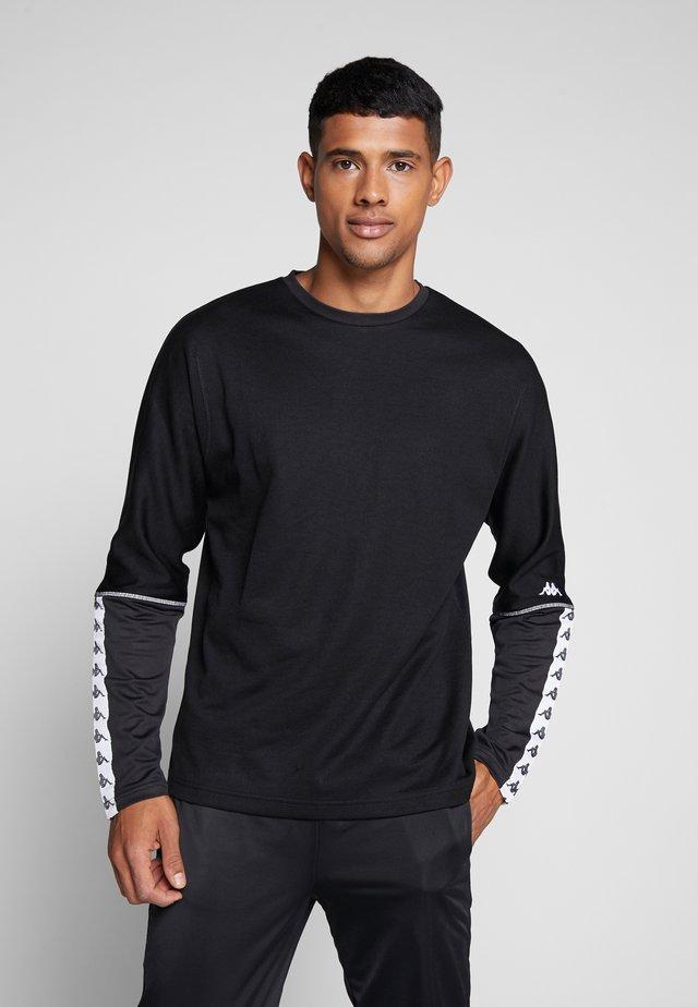 GAJUS - T-shirt à manches longues - caviar