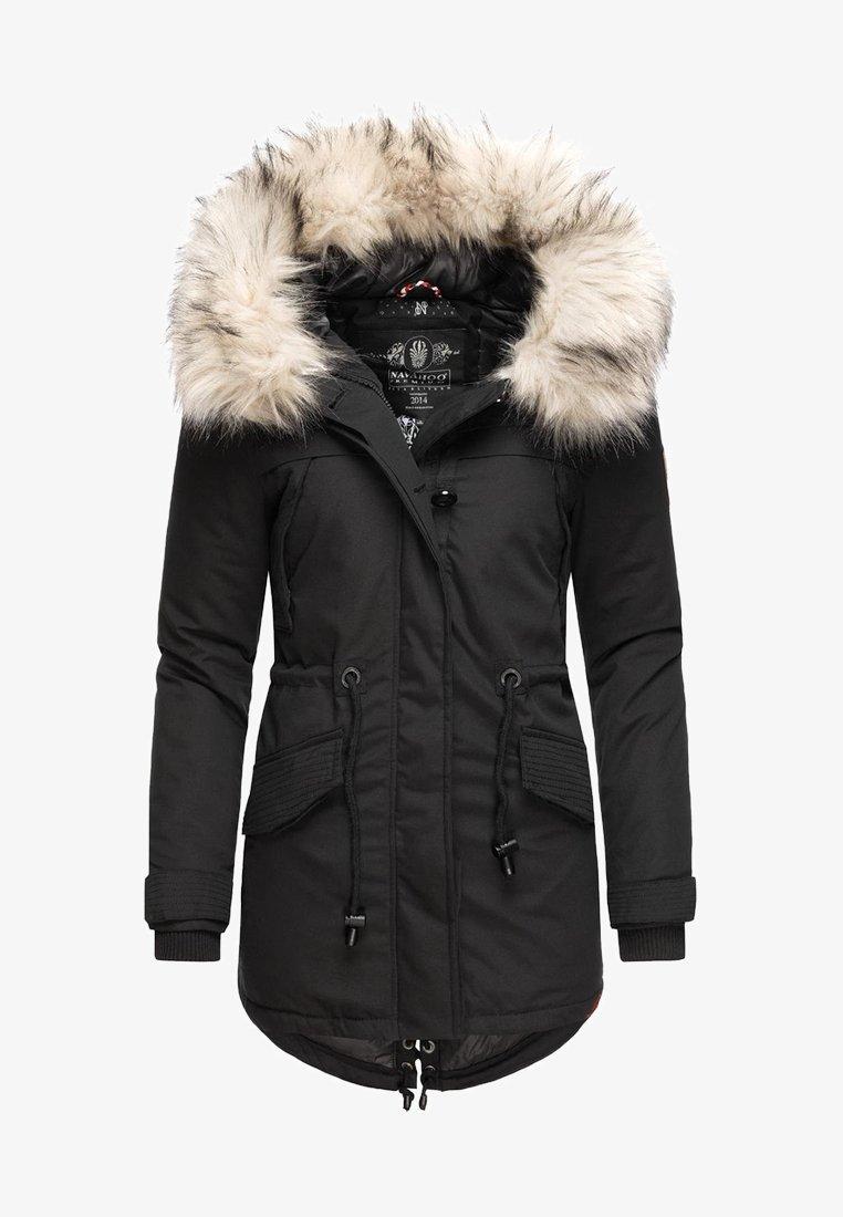Navahoo - WINTERMANTEL LADY LIKE - Winter coat - black