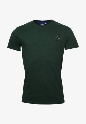 Camiseta básica - enamel green