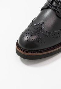 Zign - Šněrovací boty - black - 5