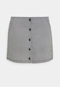 Obey Clothing - CREEPER SKIRT - Mini skirt - black/white - 4