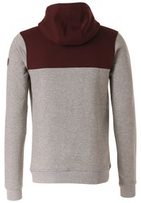 Lakeville Mountain - Hoodie - red/grey - 5
