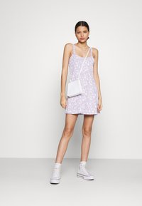 Cotton On - TURNER STRAPPY MINI DRESS - Jersey dress - lilac - 1