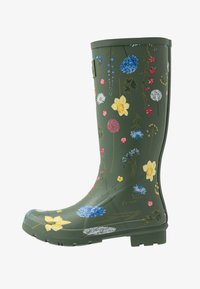Tom Joule - ROLL UP WELLY - Stivali di gomma - green - 1