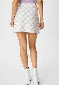 C&A - ARCHIVE - Mini skirt - white - 1