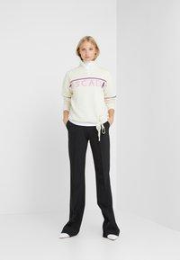 Escada Sport - LAVANDA - Stickad tröja - white - 1