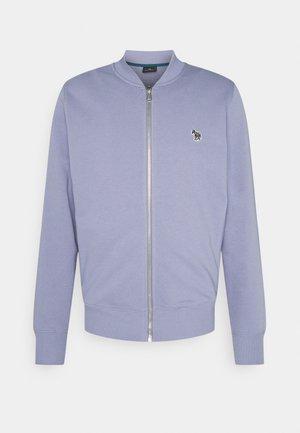 MENS ZIP BOMBER - Zip-up hoodie - blue/grey