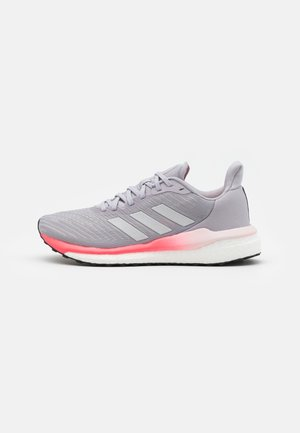 SOLAR DRIVE 19 - Neutral running shoes - glory grey/silver metallic/signal pink