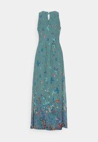 Esprit Collection - PRINT FLOWER - Maksimekko - dark turquoise - 6