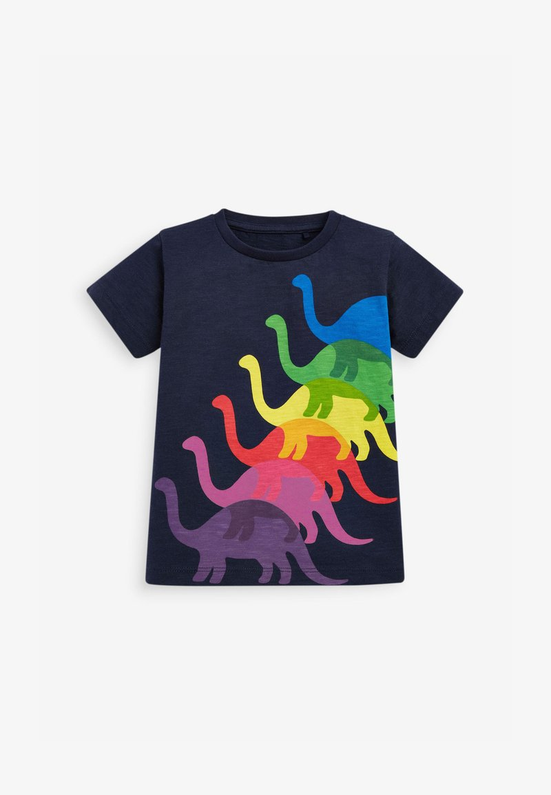 Next - Print T-shirt - dark blue