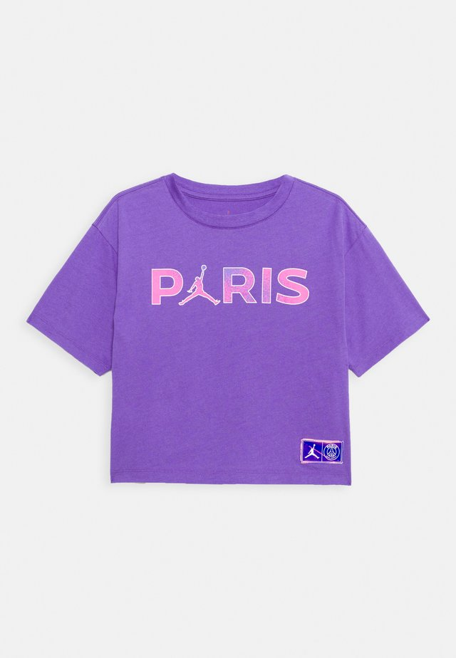 PSG BOXY TEE - Pelipaita - wild violet