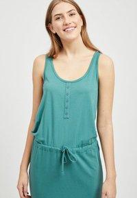 Object - OBJSTEPHANIE MAXI DRESS  - Maxi dress - blue spruce - 3