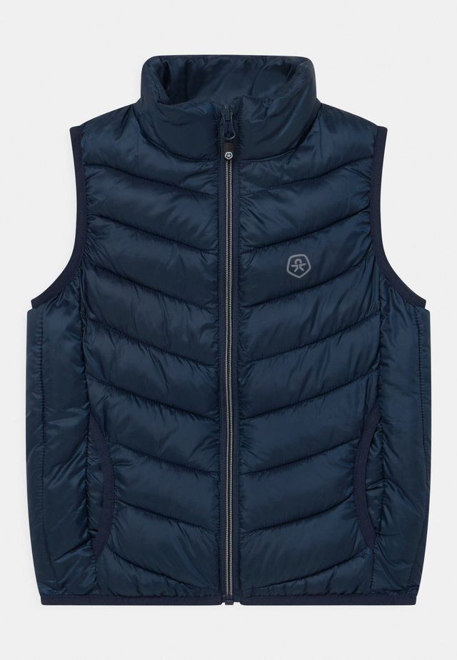 PACKABLE QUILTED UNISEX - Bodywarmer - dress blues