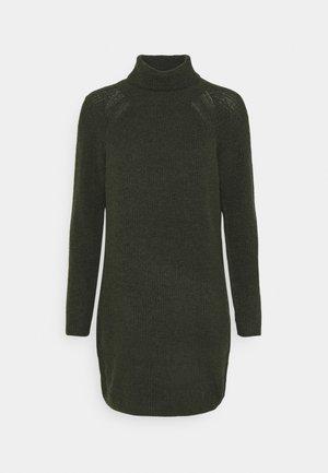 PCELLENHIGH NECK DRESS - Jumper dress - duffel bag