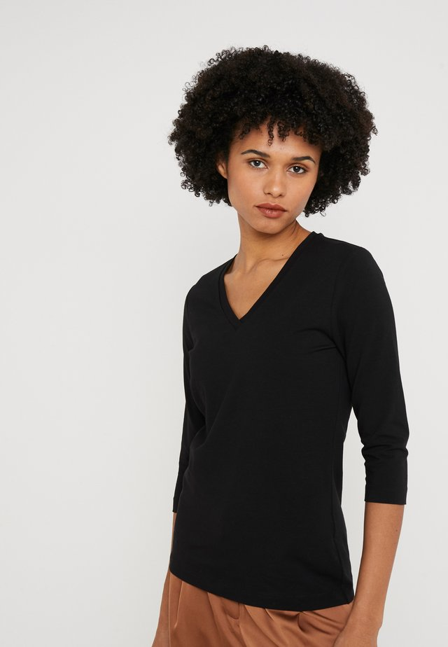 EBAZE - Long sleeved top - black