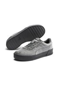 Puma - CARINA  - Sneakers laag - castlerock metallic silver - 1