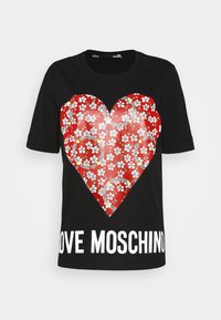 Love Moschino - Print T-shirt - black - 4