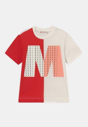 UNISEX - Print T-shirt - milk