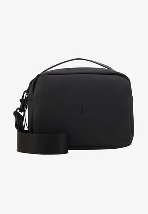 BOX BAG - Borsa a mano - black