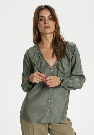 CRANYA - Blouse - agave green