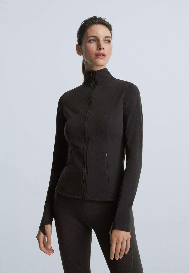 OYSHO - Training jacket - black