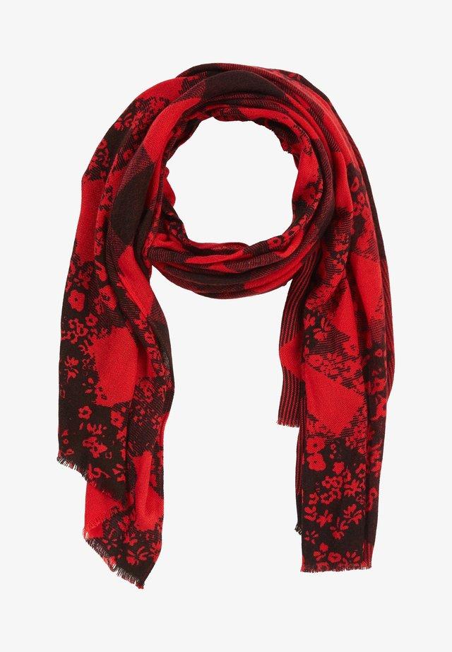 MIT ALLOVER-PRINT - Scarf - red flower print