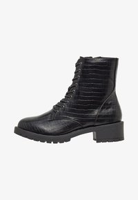 Bianco - BIACLAIRE - Lace-up ankle boots - black - 1