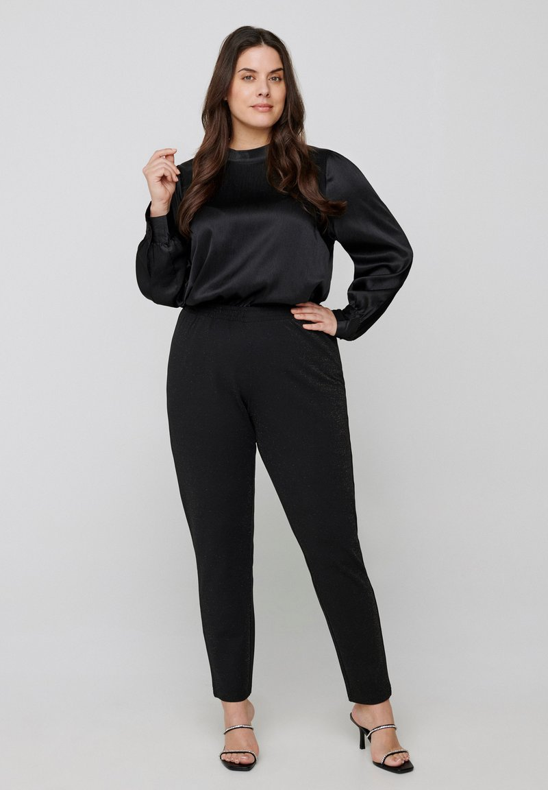 Zizzi - Trousers - black