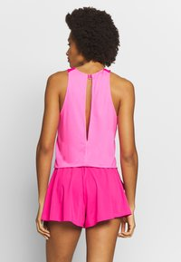 BIDI BADU - TECH JUMPSUIT 3-IN-1 - Verryttelypuku - pink/dark blue - 2
