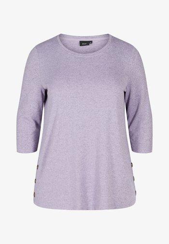 3/4 LENGTH SLEEVES - Blouse - purple