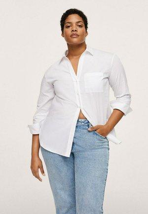 BLUS - Button-down blouse - wit
