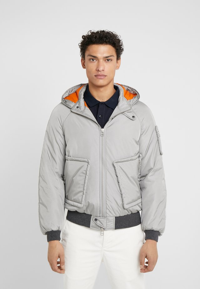 JOE - Bomber Jacket - light grey