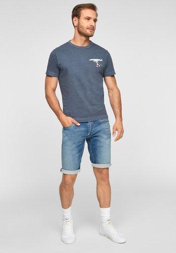 PEANUTS-MOTIV - Print T-shirt - blue