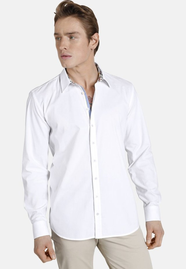 SLEEPINGTIGER - Formal shirt - white