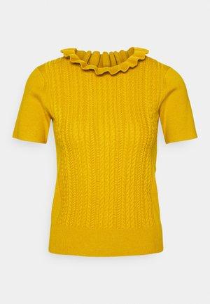 T-shirt imprimé - wild gold