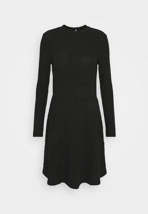 VIELITA TURTLENECK DRESS - Jumper dress - black