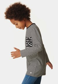 NOP - LANGARMSHIRT  - Long sleeved top - black - 3