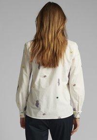 Nümph - NUCLOVE - Button-down blouse - bright white - 1