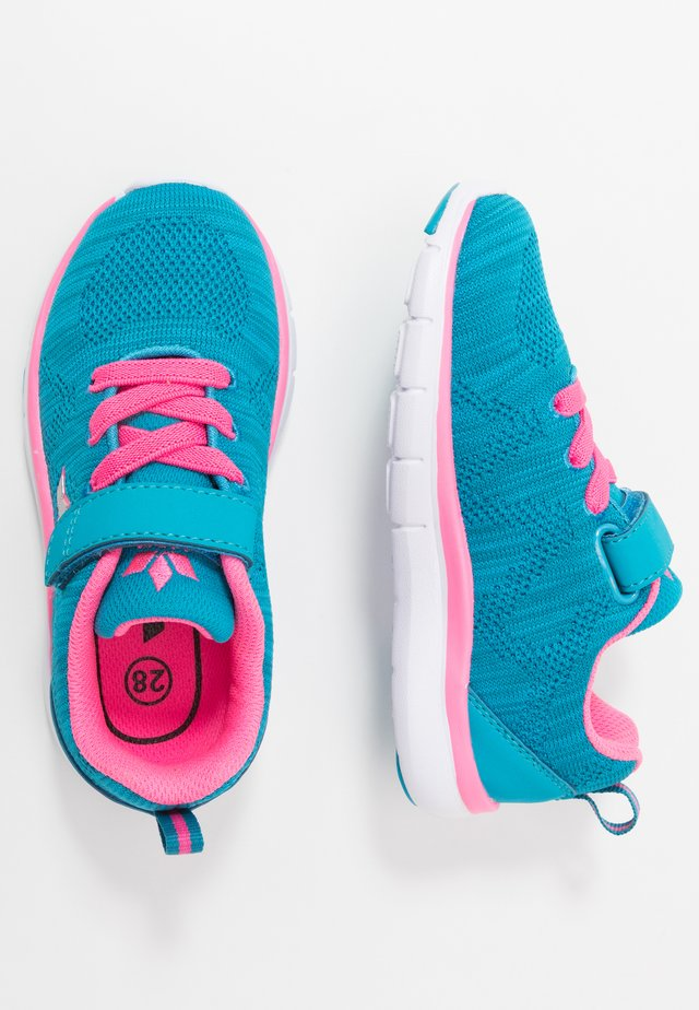 COLOUR - Trainers - türkis/pink