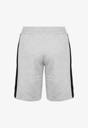 LEX SWEAT SHORT - Shorts - light grey melange / black
