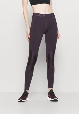 ASK GLAM - Leggings - purple
