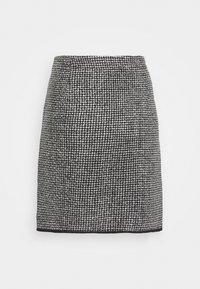 Opus - RAVENNA DOTTED - Mini skirt - black - 1