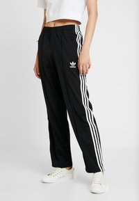 adidas Originals - FIREBIRD ADICOLOR TRACK PANTS - Träningsbyxor - black - 0
