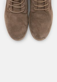Anna Field - LEATHER - Lace-up ankle boots - taupe - 5